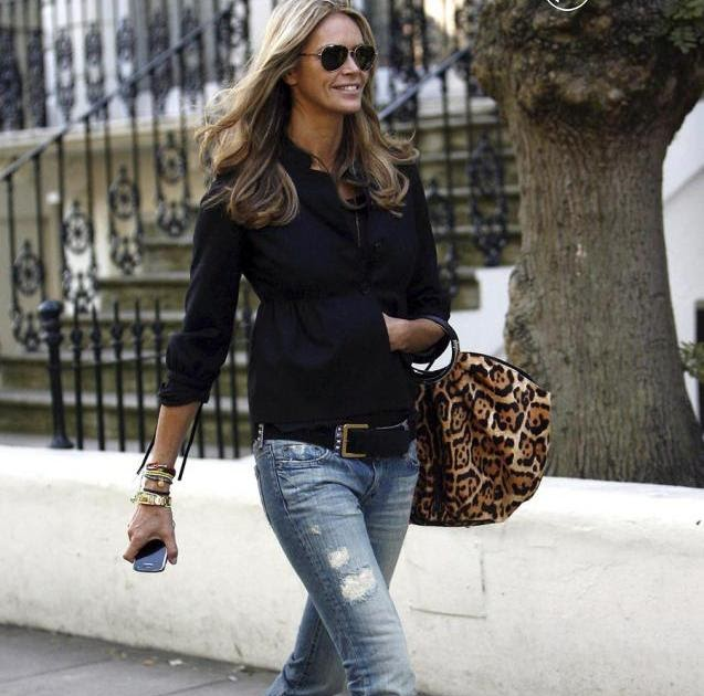 Timeless Chic Elle Macpherson 39 S Street Style