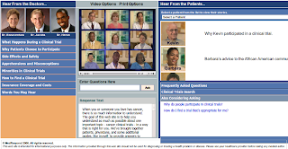 Medrespond - Cancer Clinical Trials screenshot