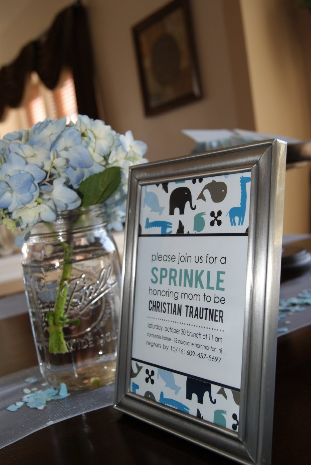 scheme and created party logos and a banner for the sprinkle