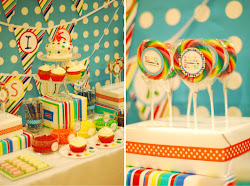 Rainbow Arts and Crafts Party