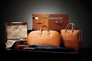 Bugatti Luggage at The Glamorous Man