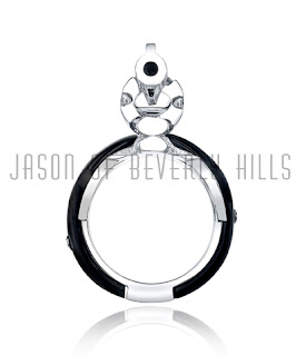 Jason of Beverly Hills Gun Ring at The Glamorous Man