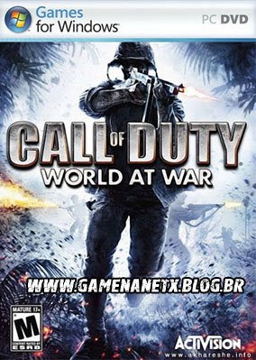 CALL OF DUTY 5: WORLD AT WAR - PC - COMPLETO CALL_OF_DUTY