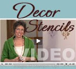Decor Stencils Video Link
