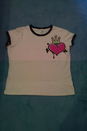 Choice by Calvin Klein Graffiti style top