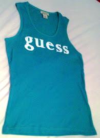 Guess designer vest top