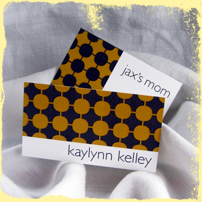 custom mommy cards or custom business cards