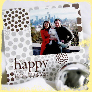 custom happy holidays card