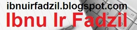 sudah berpindah ke ibnuirfadzil.blogspot.com