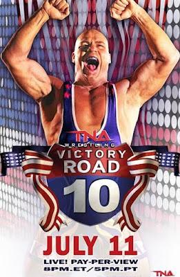 victory Road en vivo logotipo