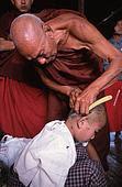 shaving for Buddism
