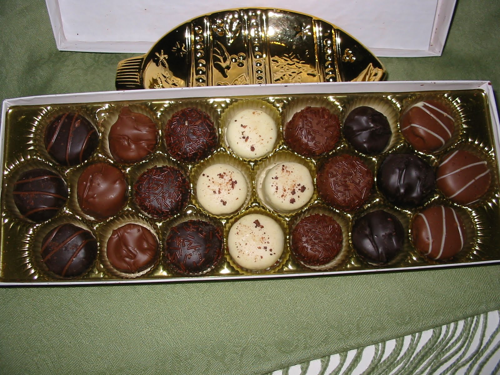The Chocolate Cult: Russell Stover Truffle Gift Box
