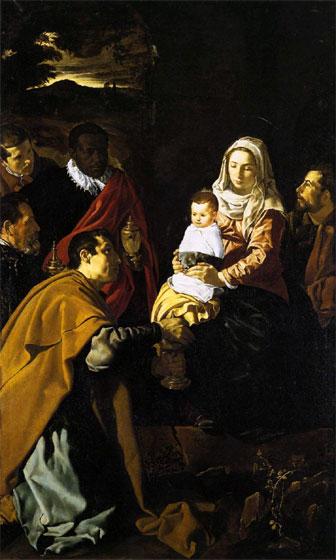 Velázquez: Adoración de los Reyes Magos (1619), Museo del Prado, Madrid