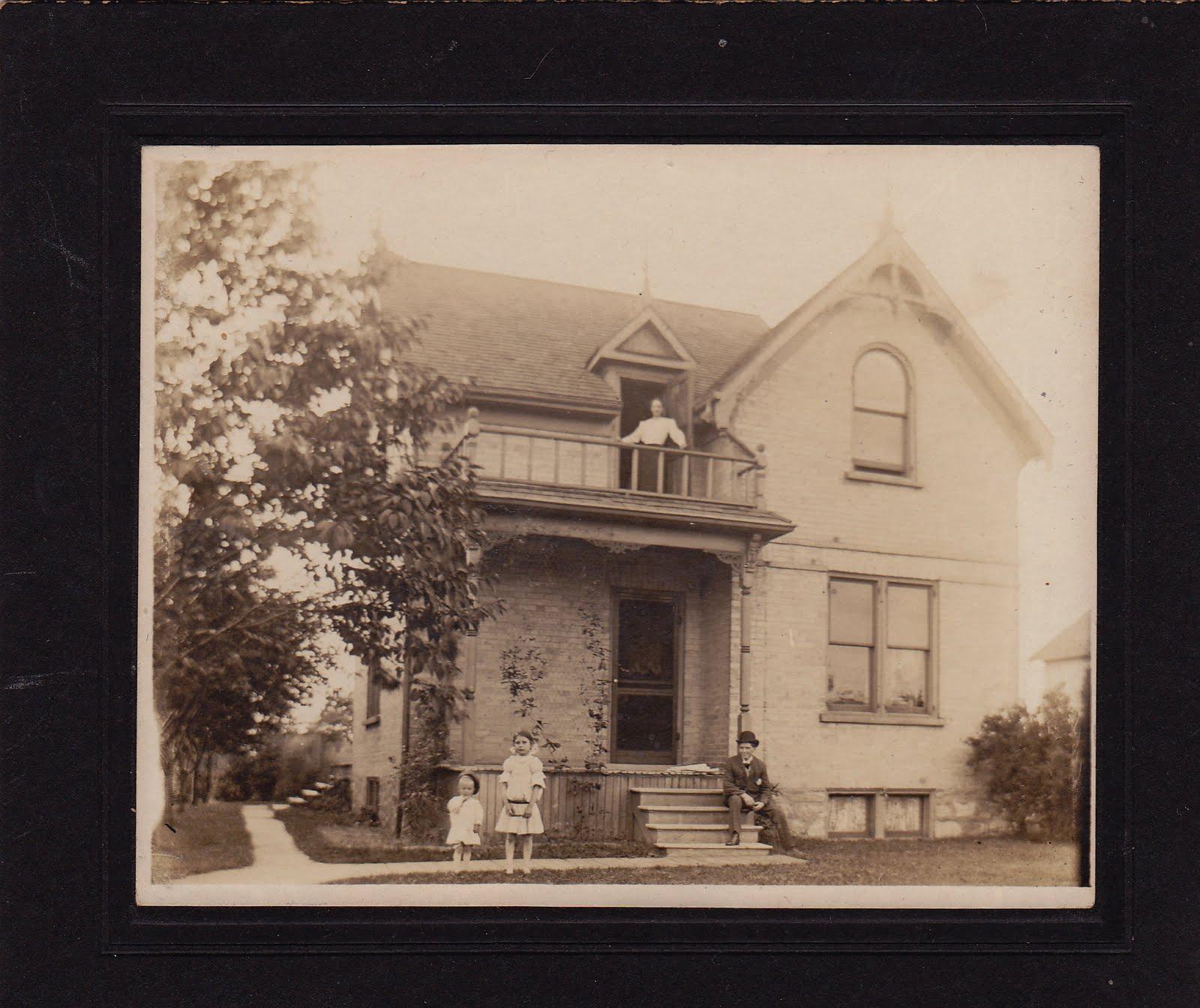 Stricker Family Mystery Photos: 216 Wellington St ...
