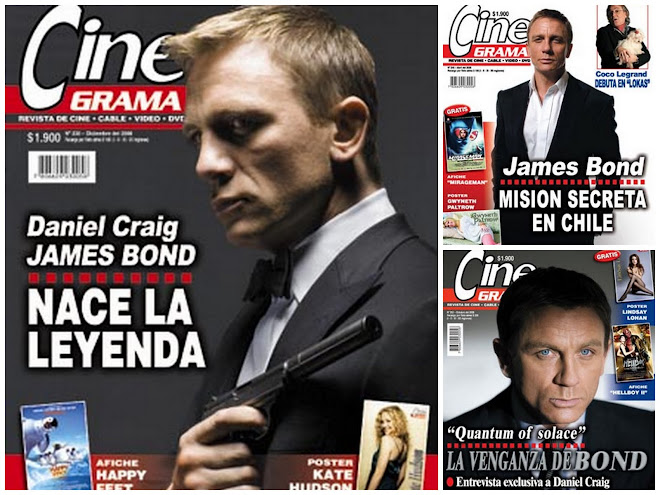 Quantum of Solace in the chilean media II