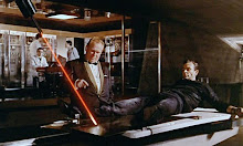 Bond enfrenta el laser de Golfinger de 1964