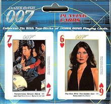 Juegos de Cartas, solo parte del increíble marchandise de 007...