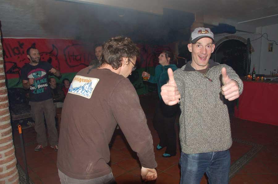 Fiesta De Noche Vieja New Years Party Finca La Campana Hostal En El Chorro