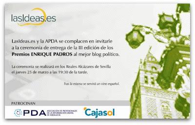 Invitacion Premio Padros
