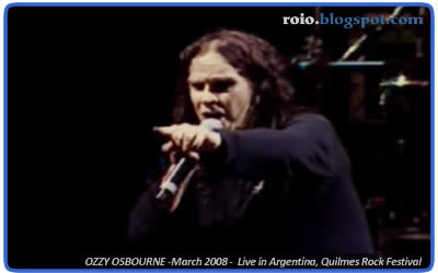OzzY OsbournE Live in Argentina, Quilmes Rock Festival