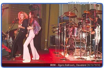 Rush 1974 Agora Ballroom Cleveleand + Don Kischner bootleg