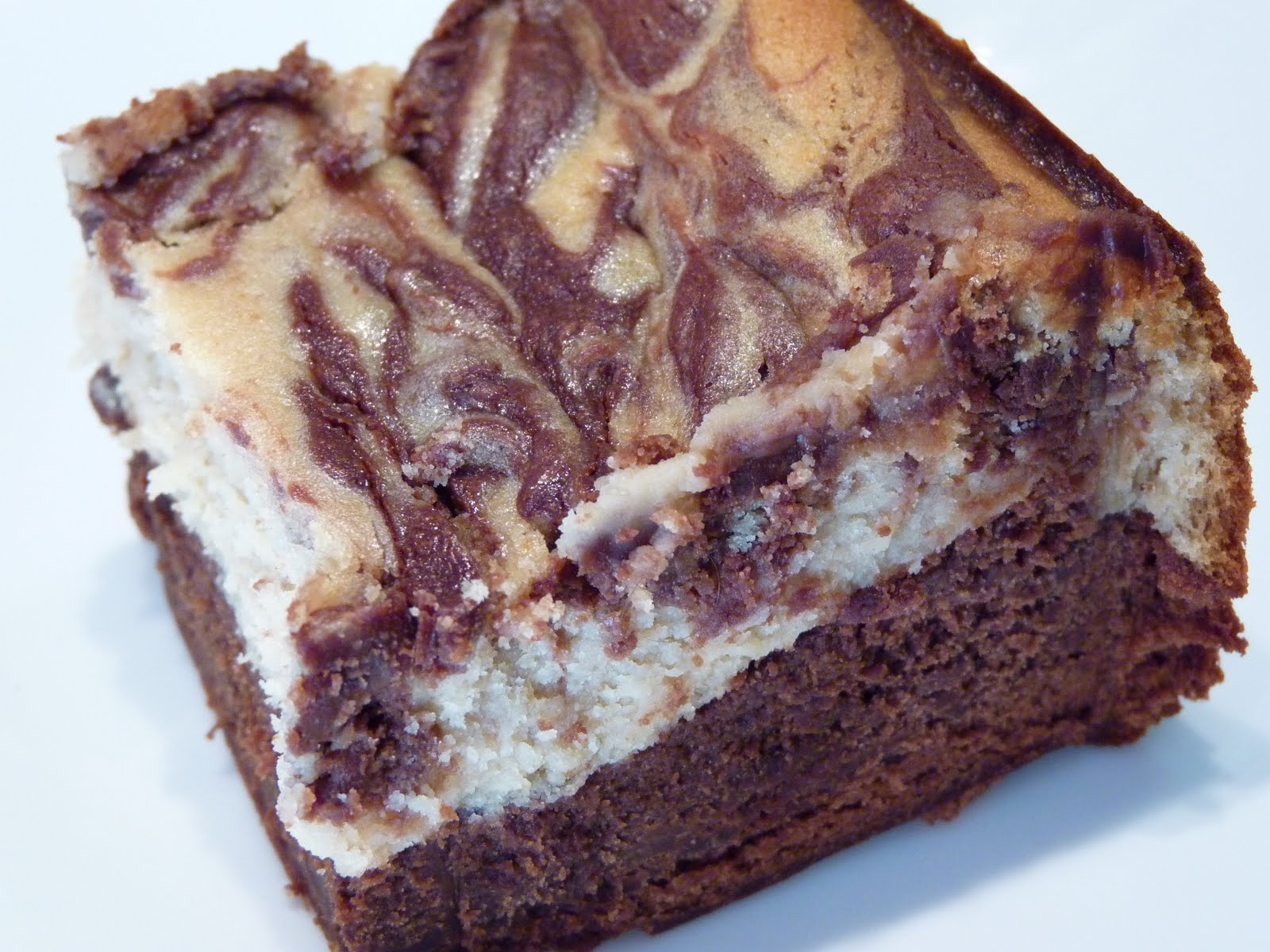 Favorites: Peanut Butter and Chocolate Cheesecake Swirl Brownies