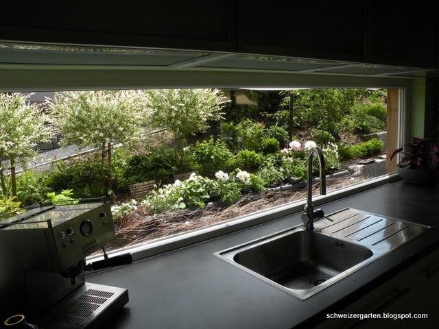 ein schweizer garten im gr nen kochen. Black Bedroom Furniture Sets. Home Design Ideas