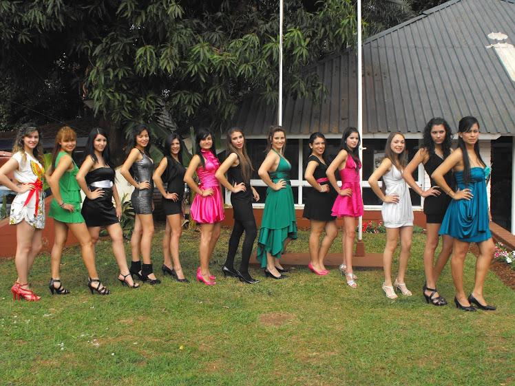 Candidatas a Miss Iguazu 2010