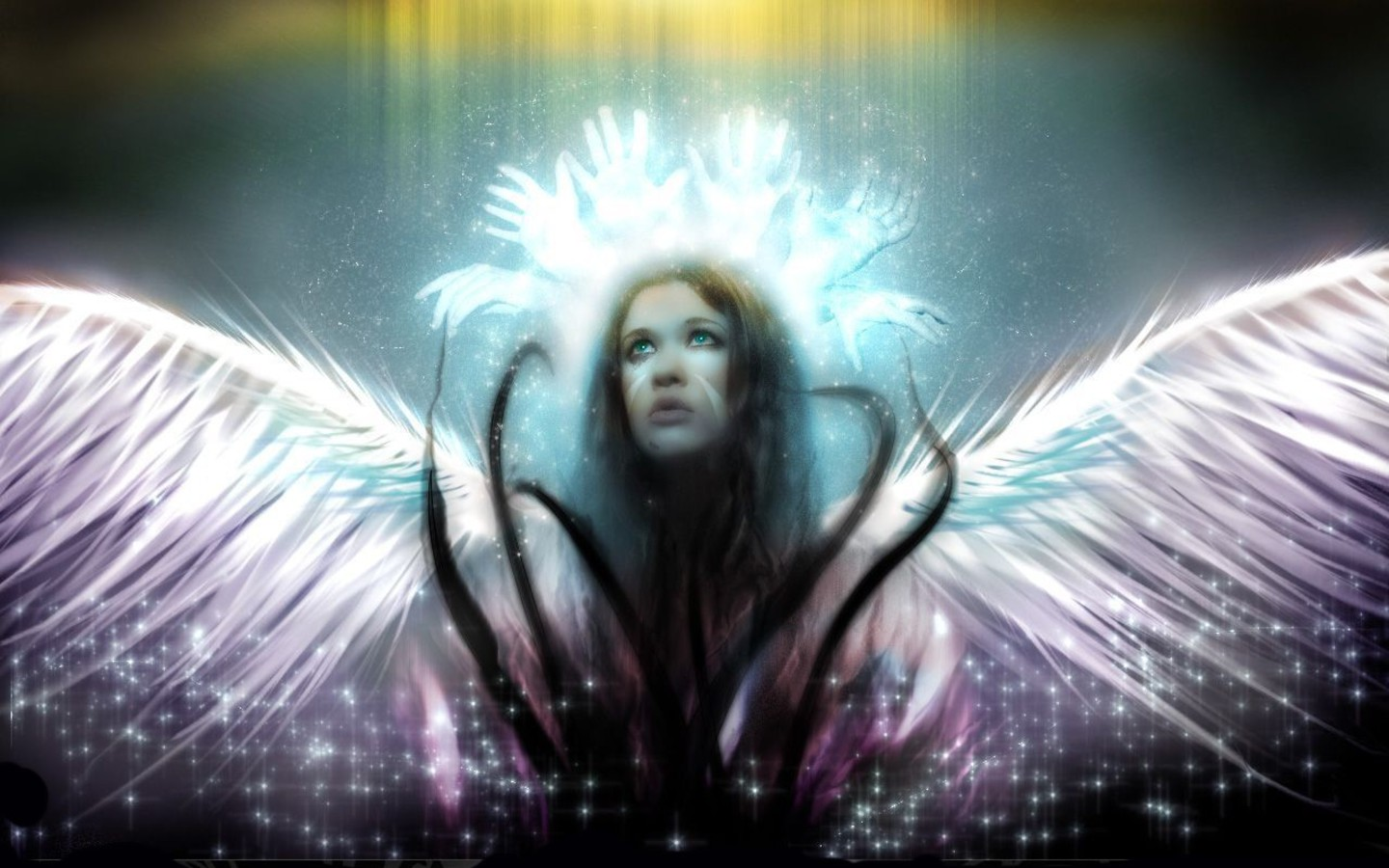 Due time. Beautiful fantasy angels