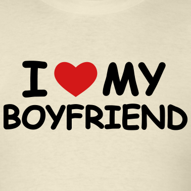 I love you my boyfriend