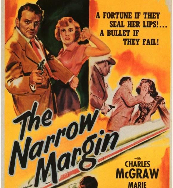 The narrow margin Charles McGraw vintage movie poster