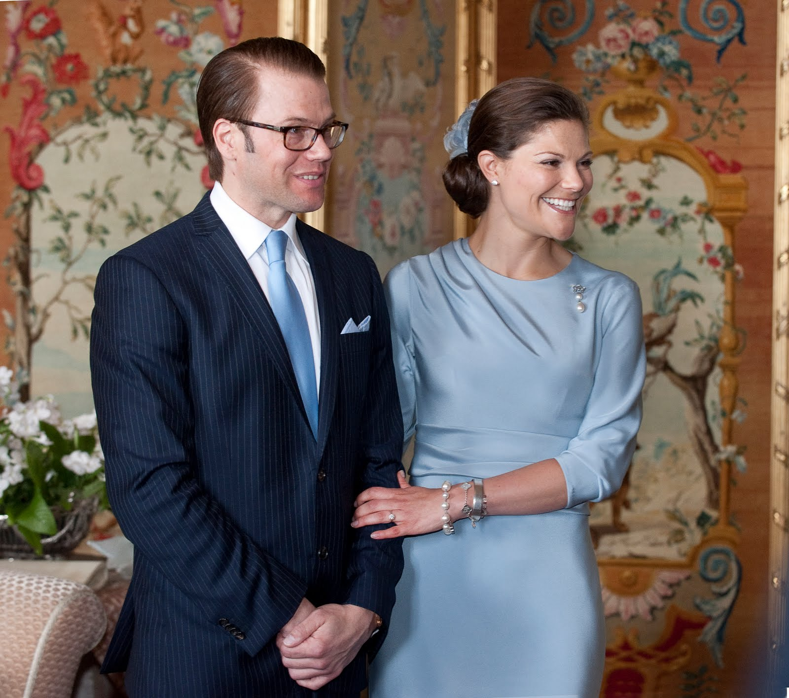 Crown Princess Victoria: Publishing of the Wedding Banns