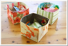 Tutorial : Fabric Scrap Baskets