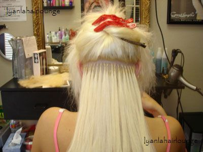 Hair Style 08 Photo. Blonde fluffy wings become a scene stealer, platinum
