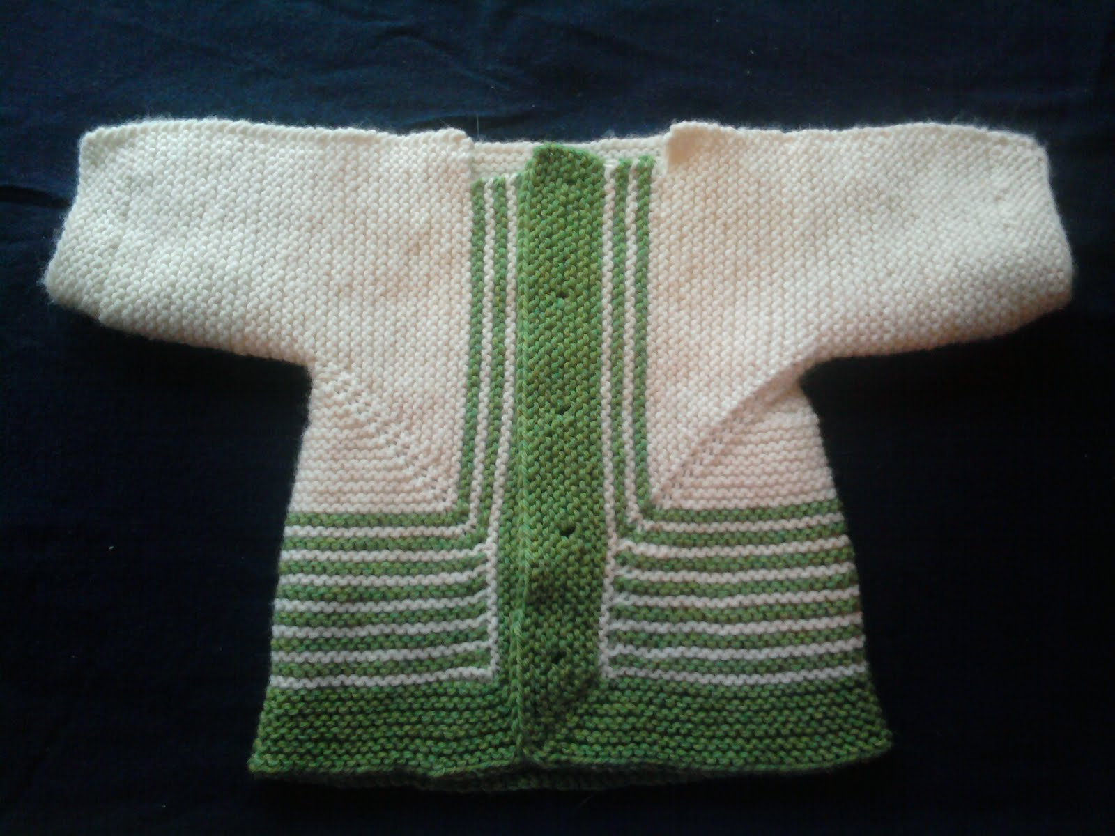 Zimmerman February Baby Sweater 108
