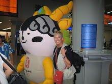 One of the Olympic Mascots