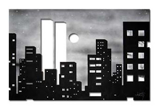 imagem - pintura - aerógrafo - nanquim - papel