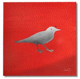 pássaros - pinturas - burity