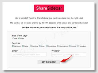 Imagem - sharesidebar - get the code