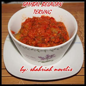 SAMBAL BELACAN TERUNG