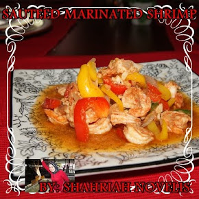 SAUTEED MARINATED SHRIMP
