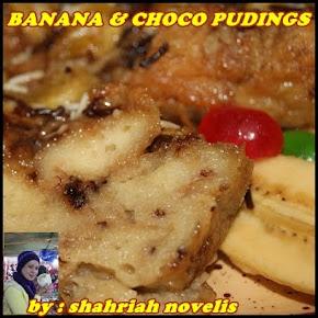 BANANA & CHOCO PUDINGS