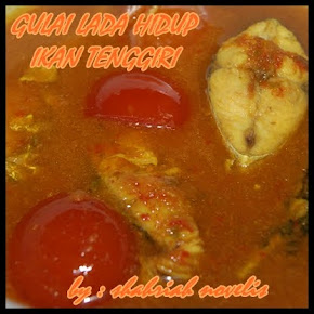 GULAI LADA HIDUP IKAN TENGGIRI