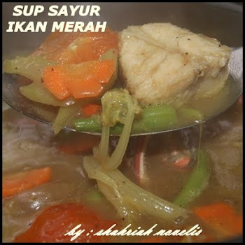SUP SAYUR IKAN MERAH