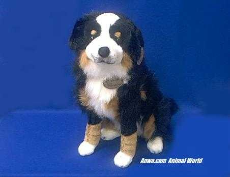Bernese Mountain Dog Stuffed Animal Large