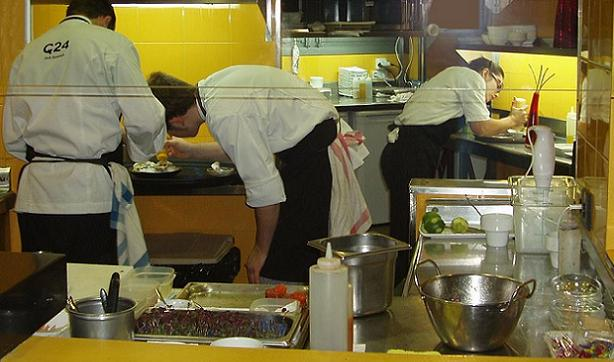 Chefs at C24 are individually focused, but dependent on each other's every move