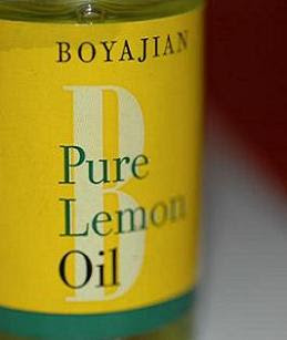Pure lemon oil is very expensive - but it goes a very long way!