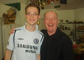 Me with wine expert Oz Clarke