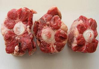 Oxtail pieces