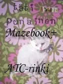 Täti Punaisen Mazebook+ATC-rinki